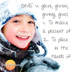 Giving Quote with watermark 300x300 - Giving Gifts to Place in the Hands of Youth