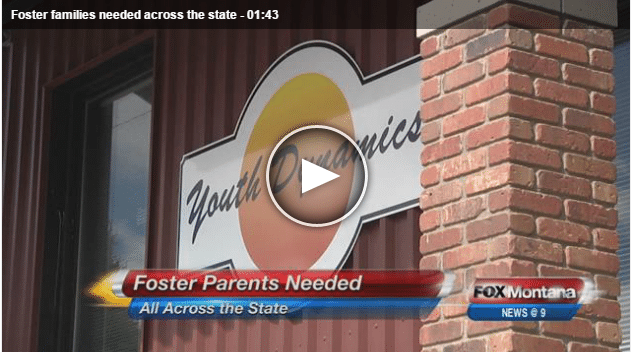 NEws story image - Foster families needed across the state