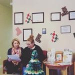 Our team works hard no matter what time of year it is to provide excellent services to clients!