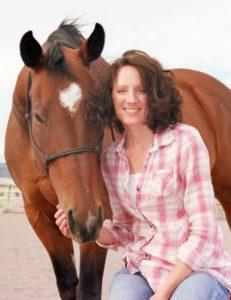 shari with horse