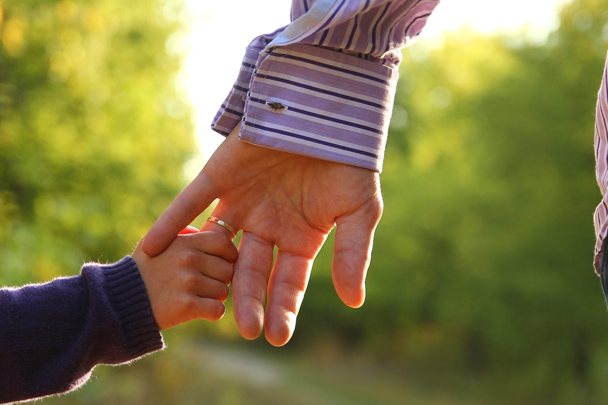 Man and child holding hands e1488558762287 1200x800 - Salute to Our Donors