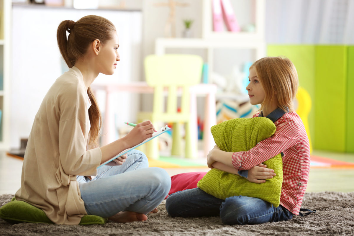 kid in therapy 1200x800 - Advice from a Former Case Manager: How to Advocate for your Child