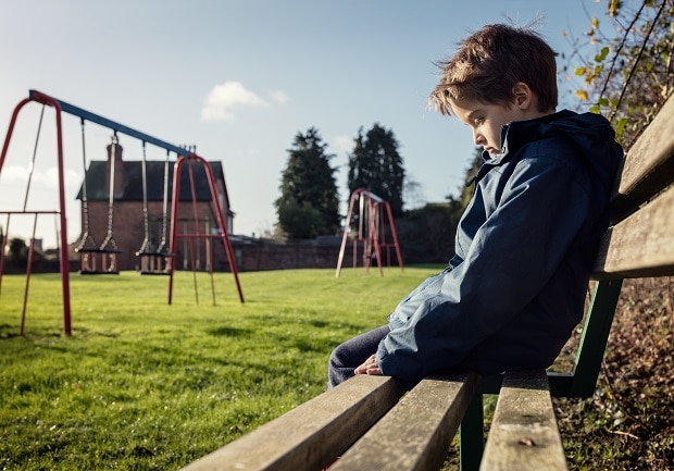 Little kid resized - Exposure to Abuse May Lead to Poor Heart Health in Kids