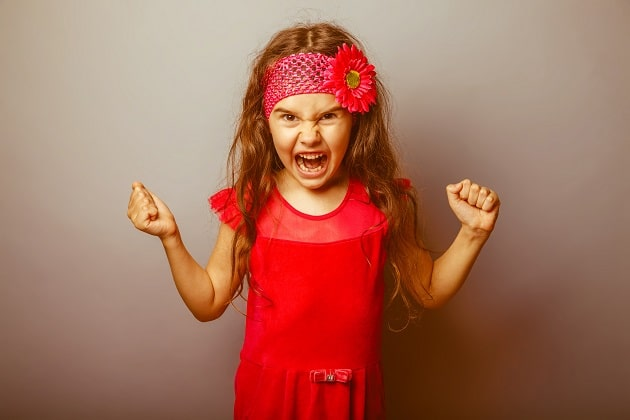 Angry Girl - Managing Problem Behavior at Home