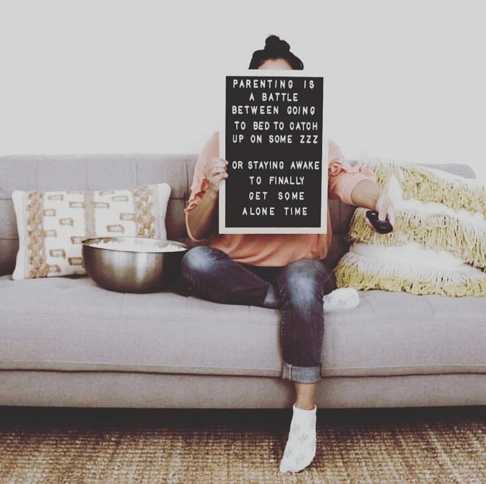 The Struggle is Real 1 - Letter Boards to Celebrate the #MomLife