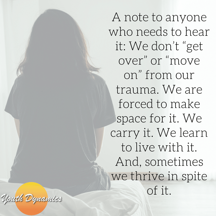 A Note on Trauma 1 - Struggling? Quotes for Those Experiencing Trauma & Grief