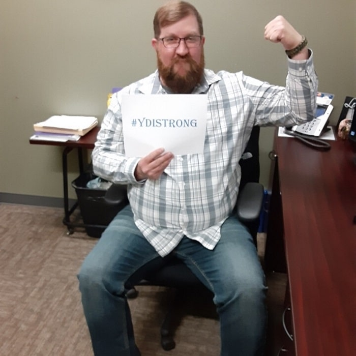 gavin resized - What Does It Mean to Be #YDIStrong?