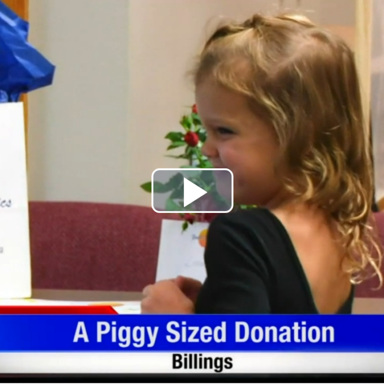 Billings child donates $61 from piggy bank, ends up raising nearly $2000
